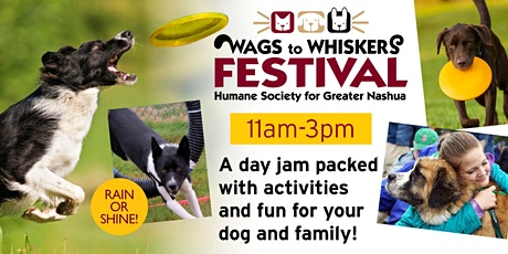 Wags to Whiskers Festival - 2021 tickets