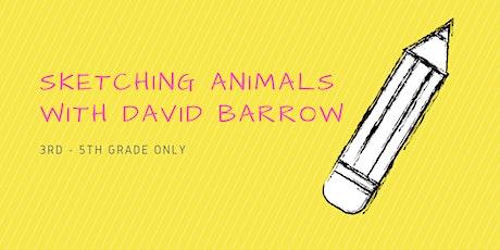 Sketching Animals [3rd - 5th Grade] tickets