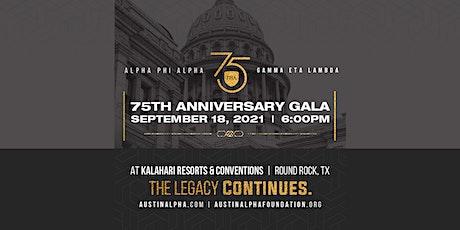 Alpha Phi Alpha Fraternity, Inc.,  Gamma Eta Lambda 75th  Anniversary Gala tickets