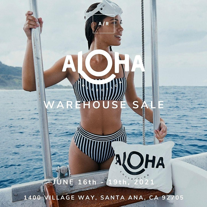ALOHA Collection Warehouse Sale - Santa Ana, CA image