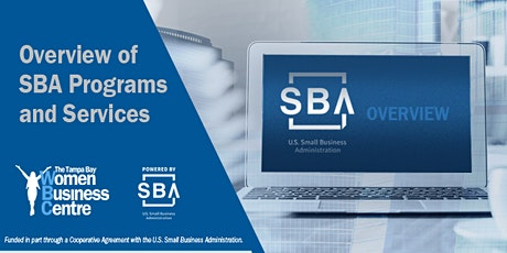 Overview of SBA Programs and Services tickets