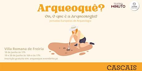 Arqueoquê? Ou, O que é a arqueologia? bilhetes