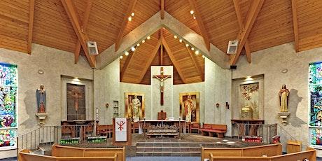 Sunday Vigil Mass - 5 pm English tickets