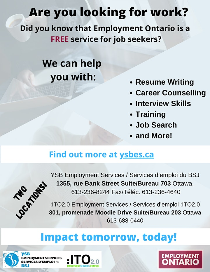 Second Career Information Session image