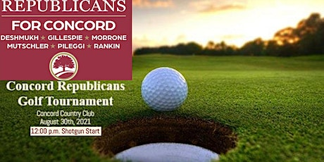 Republicans for Concord Golf Outing tickets