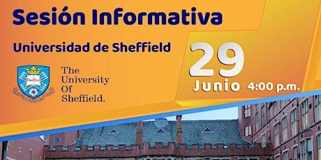 Sesión  informativa  Universidad de Sheffield entradas
