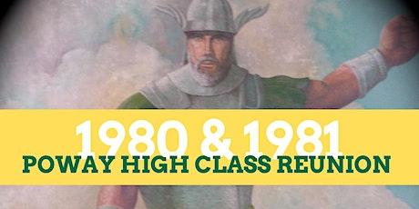 Poway High 1980 & 1981 Class Reunion tickets