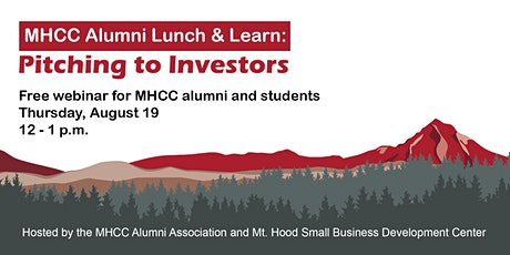 MHCC Alumni Lunch and Learn:  Pitching to Investors tickets