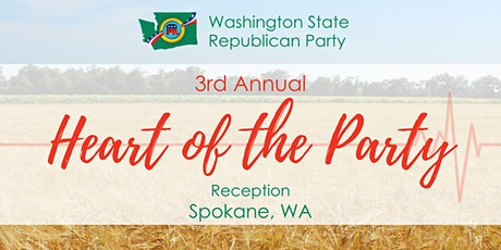 3rd Annual 'Heart of the Party' Reception tickets