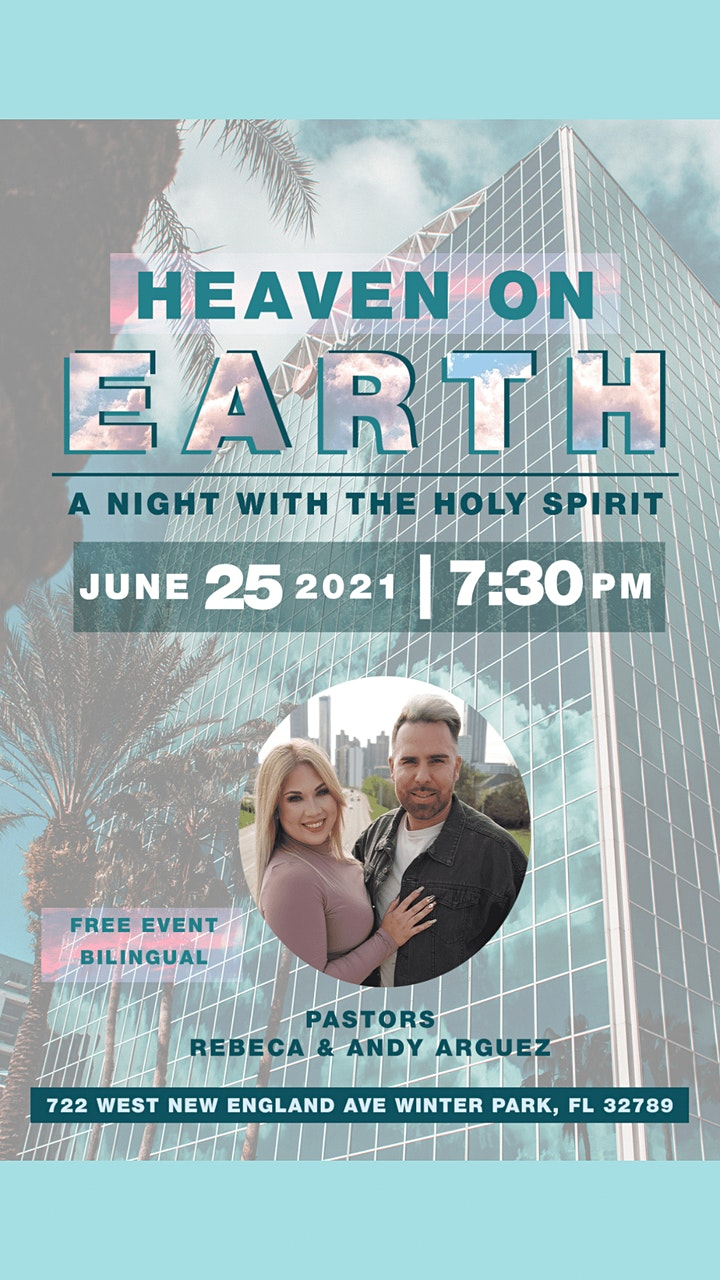 Heaven on Earth // A Night With the Holy Spirit image