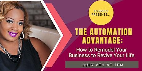 The Automation Advantage tickets