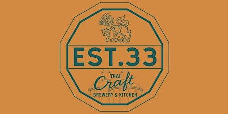 EST. 33 Thai Craft Brewery & Kitchen Hosts Copa América 2021 Watch Party tickets