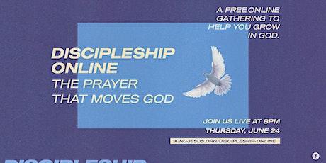 Discipleship Online - June ingressos