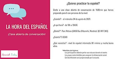 ¡La hora del español! tickets