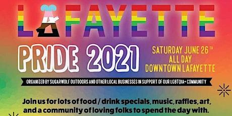 Downtown Lafayette Pride 2021 tickets