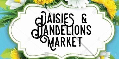 Daisies & Dandelions Summer Sunday Brunch Market Vendor Sign Up tickets