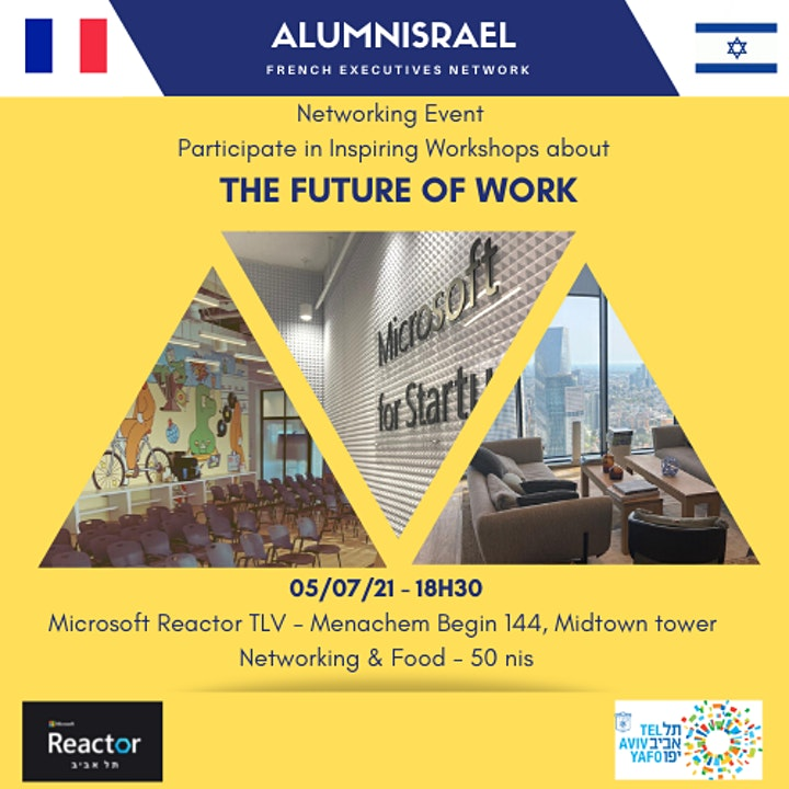 Networking : Participate in Inspiring Workshops About the Future of Work image