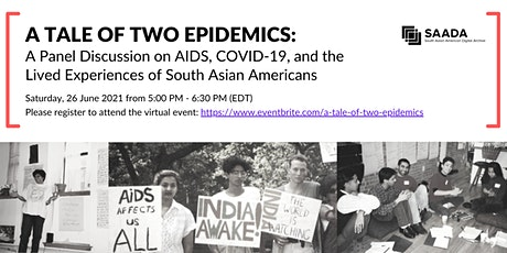 A Tale of Two Epidemics tickets
