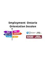 Employment Ontario Orientation Session tickets