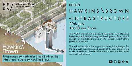Hawkins \ Brown - Thames Infrastructure tickets