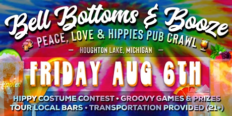Bell Bottoms & Booze - Peace, Love & Hippies Pub Crawl tickets