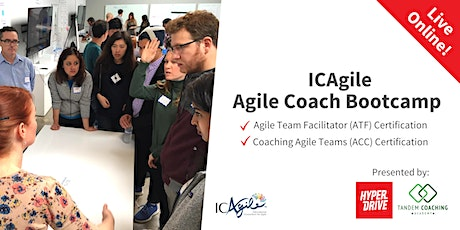 Agile Coach Bootcamp (includes both ICP-ACC and ICP-ATF) Live-Online Course entradas