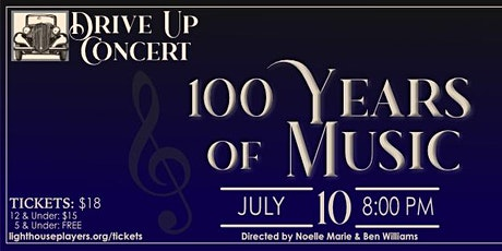 100 Years of Music Seated In Car Youth Tickets tickets