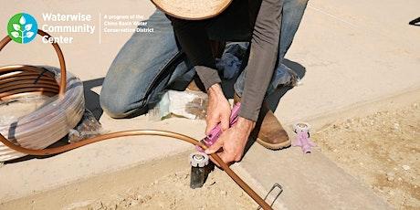 Irrigation & Watering Basics  - Online Workshop bilhetes