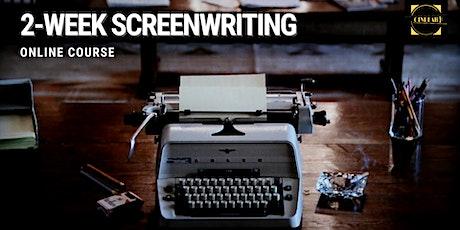 2-week Screenwriting course tickets