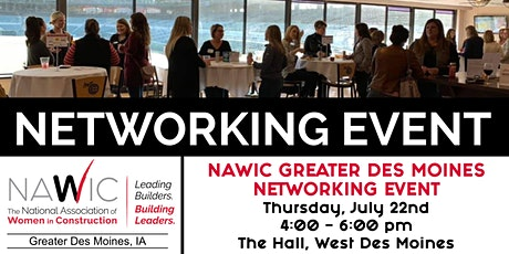 NAWIC Greater Des Moines Networking Event tickets