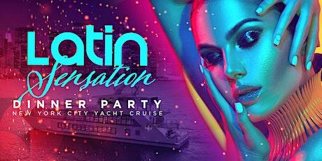 Latin Sensation Dinner Yacht Cruise - Saturday Night NYC Boat Party tickets