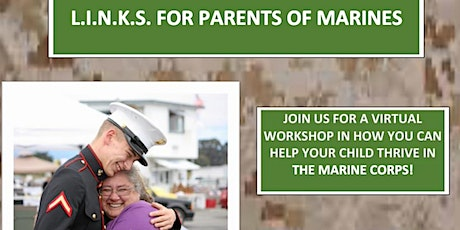 L.I.N.K.S. For Parents of Marines-VIRTUAL-September tickets