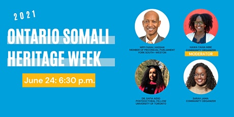 Ontario Somali Heritage Week Launch Event tickets