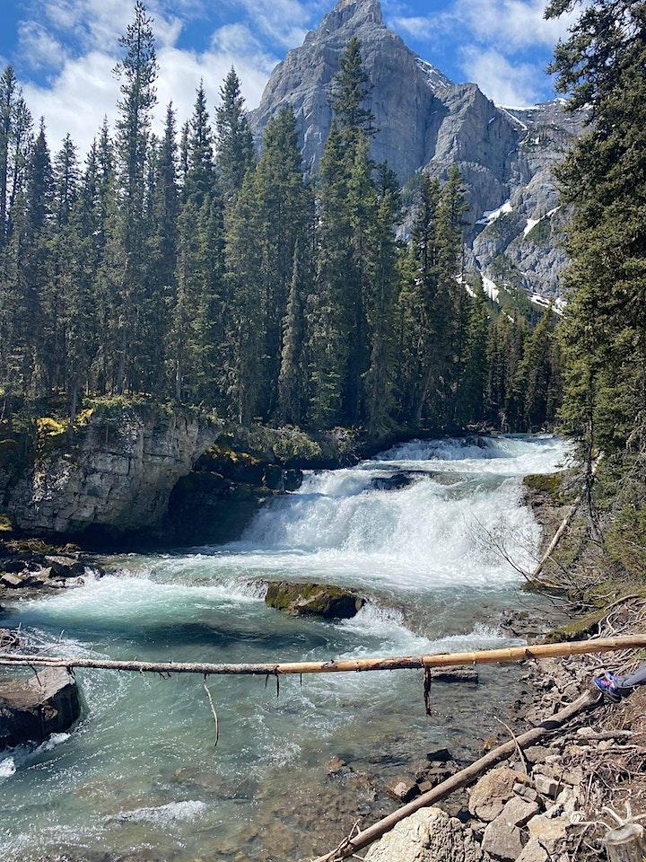 Beginner guided hike- Kananaskis falls via Upper Kananaskis Lake Trail image