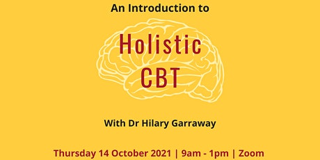 An Introduction to Holistic CBT tickets