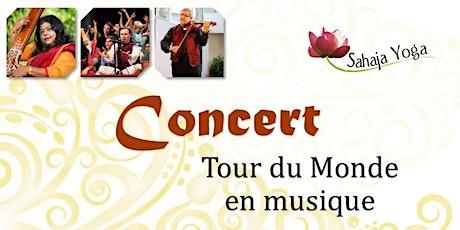 Concert : Tour du Monde en musique billets