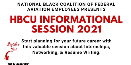 HBCU Virtual Informational Session tickets