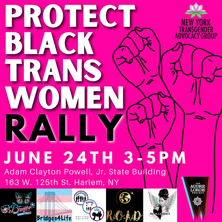 Protect Black Trans Women Rally 2021 image