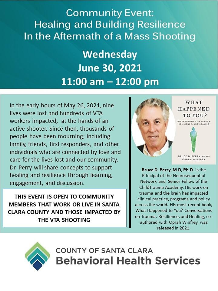 Dr. Bruce Perry: Healing & Building Resilience  After a Mass Shooting image