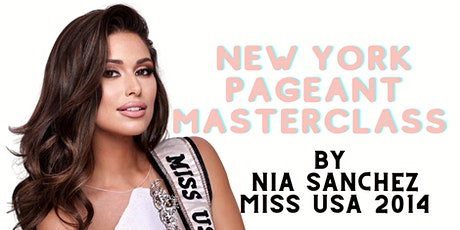 NYC PAGEANT MASTERCLASS tickets