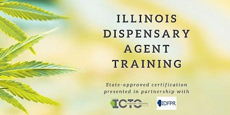 Illinois Responsible Vendor Program  - State of Illinois Cannabis Training tickets