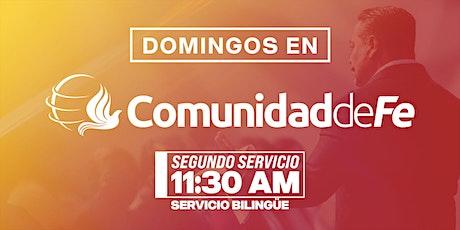 11:30AM Dia de los Padres en Comunidad de Fe Ministries tickets