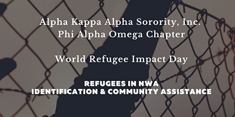 """""""Together we heal, learn, and shine."""" - Refugees in NWA tickets"""