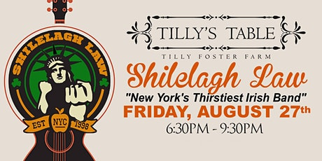 Shilelagh Law LIVE at Tilly Foster Farm tickets