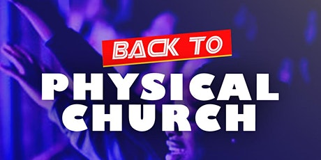 Fathers Day Physical Church Service - 20th June 2021 tickets