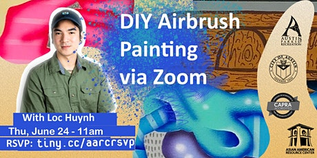 DIY Air Brush Painting with Loc Huynh tickets