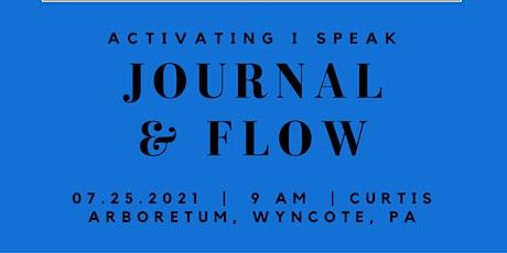 Journal and Flow: Activating I SPEAK tickets