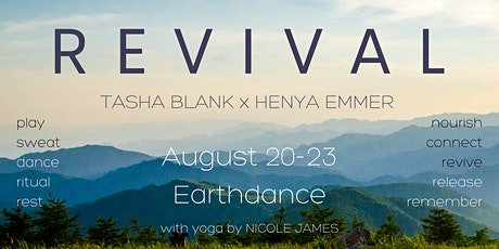 REVIVAL: An Immersive Dance RESET with Henya Emmer + Tasha Blank tickets