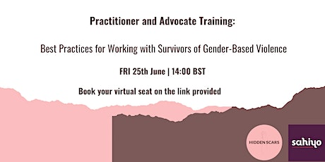 Best Practices for Working with Survivors of Gender-Based Violence tickets