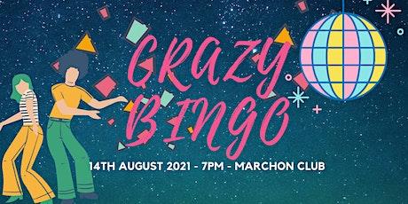 Charity Crazy Bingo tickets
